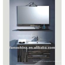 MDF деревянный венге шкаф для ванной комнаты / свободная тканья краска