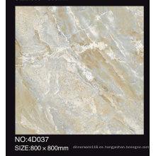 Diseño de mármol del chorro de tinta 3D El mejor azulejo de la porcelana del azulejo de piso 600X600 800X800