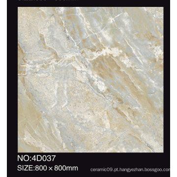 Projeto de mármore do jato de tinta 3D o melhor telha do assoalho Telha de assoalho da porcelana de 600X600 800X800