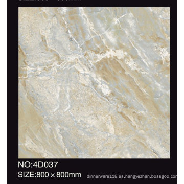 Selección popular 600X600 800X800 mm Inkjet Printing Marble Tiles