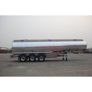 ARAMCO Alu. Alloy  Fuel Tank Semi-Trailer