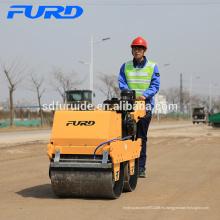 Mini compactador de rodillos hidrostáticos con ruedas de acero (FYLJ-S600C)