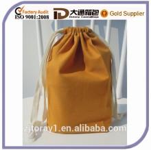 Small Size Custom Designer Promotional Cloth Drawstring Bag