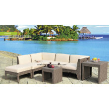High Quality PU Leather and Rattan Furniture