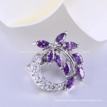 Latest Trendy Design Crystal name brand brooches