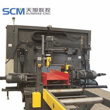 Channel UIH Beams Drilling Machine