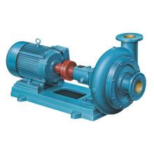 Pompe d'eaux d'égout centrifuge horizontale de drain de saleté de Pw