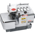 3 Thread Overlock Sewing Machines Shell Shape Stitch Model Fit737f-Bk
