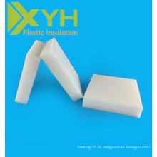 Folhas brancas da resina do acetato de POM do branco