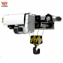 5t 6m European Style Electric Wire Rope Hoist with ABM motor