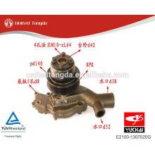 E2100-1307020G original Yuchai Motor YC4E bomba de água