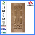 JHK-012 Kitchen Black Walnut Veneer Door Panel Natural