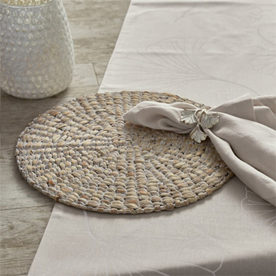Round Natural Placemats