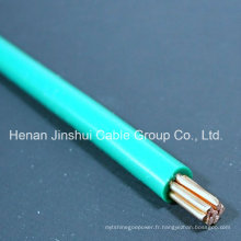 Fil torréfié isolé en PVC 16mm2