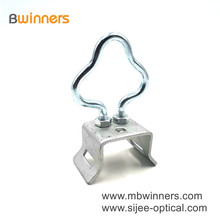 Ftth Cable Stainless Steel Material Pole Bracket