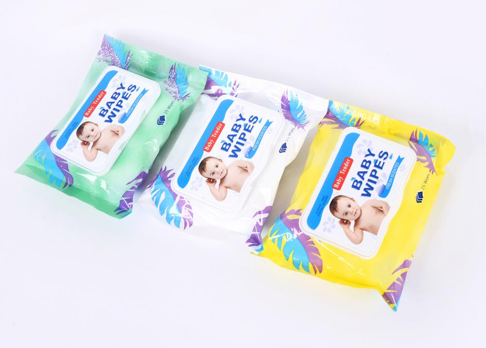 25 Pcs Baby Wet Wipes