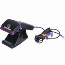 Wide Reading Window Barcode Scanner, Ergonomic and Lightweight Design