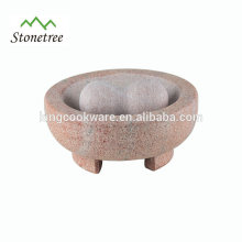 Best Selling Products Colorful Granite Molcajete