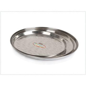 Vente chaude de style thaïlandais 11-14 pouces en acier inoxydable plaque ronde-Lfc10378