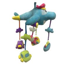 Plush Airplane Hanging Decoration