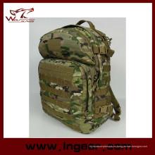 Ejército militar táctico de camuflaje mochila para senderismo bolsa Airsoft # 044