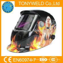 Popular Auto-darking welding helmet with air filter