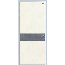Wood Door with Toughened Glass, Wood Door Export,