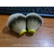 23mm Silvertip Badger Hair Knots Bulb Shape