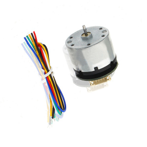 12V Micro DC Brush Motor With Holzer Encoder