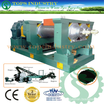 Two Rollers Rubber Mill / Cracker Mill / Cracker Milling Machine / Double Rollers Shredder / Double Rollers Shredding Machine (SLP-500 SLP-580)
