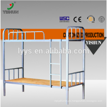 new design metal bunk bed/steel double bed furniture