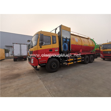 12000liters vacuum sewage sucking tank truck