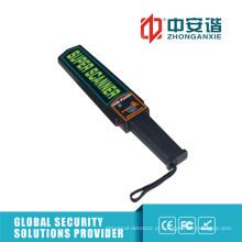 Segurança na escola Área não-cega Light Weight Digital Portable Detector de metais