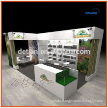Booth design and construction for trade show custom exhibition booth design