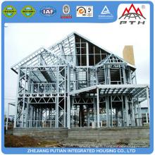 Maisons préfabriquées préfabriquées en acier de haute qualité en Chine