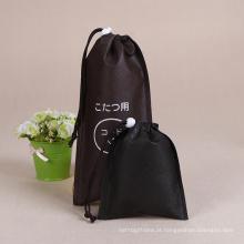 Venda quente de fábrica preço direto Drawstring Bag promocional