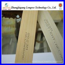 Bandas de borde de PVC de grano de madera
