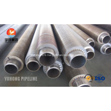 Serrated Extruded Heat Exchanger Fin Tube A106 Gr.B
