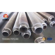Serrilhada Fin de extrudados de trocadores de calor tubo A106 Gr.B