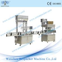 Tipo de suporte Eliquid máquina tampando máquina de enchimento