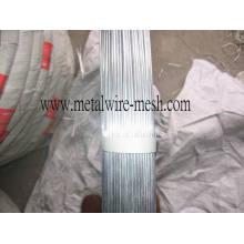 Fil galvanisé ovale 2.4X3.0mm pour clôture agricole