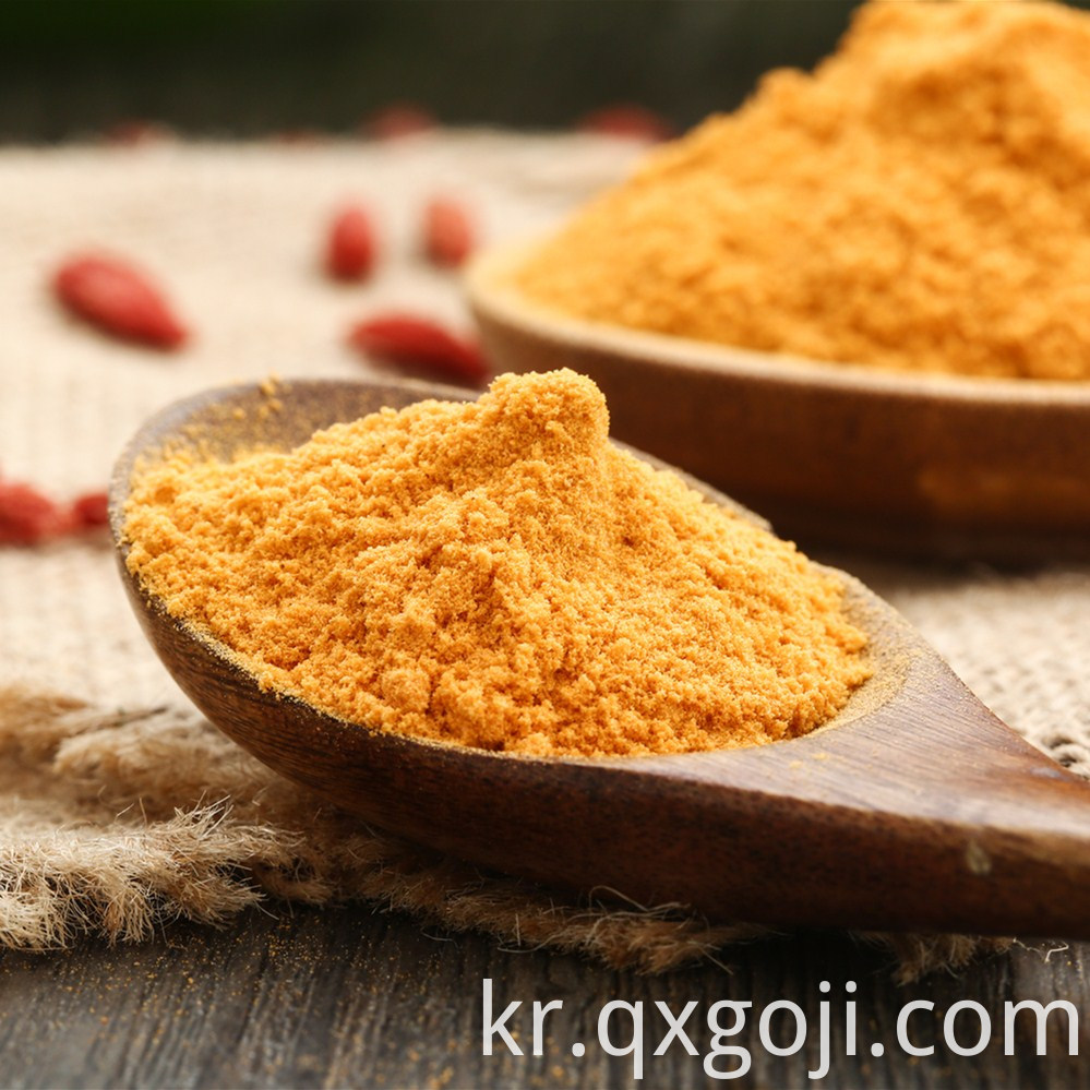 Spraying-drying Goji Berry Powder