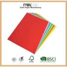 Papel colorido de la pulpa original del tamaño 80GSM A4 (CMP-A4-500TM-80G)