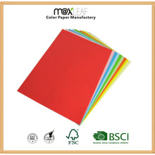 110GSM A4 Color Woodfree Paper of Assorted Colors