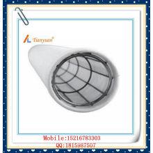 Bolsa de filtro de poliéster de membrana PTFE para colector de polvo