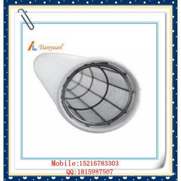 Bolsa de filtro de polvo de poliéster de felpa de membrana de PTFE