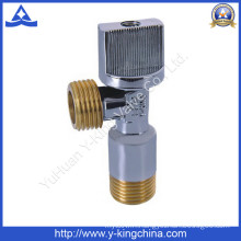 Cheaper Brass Angle Valve with Yellow Thread (YD-5016)