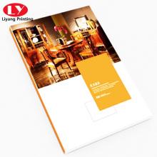 servicio de impresión de revista de estilo de vida fashional personalizado barato