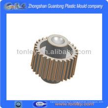 plastique à engrenages partie pour imprimante d'aiguille de conception moule, pour les motos (OEM)