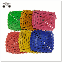 Colorful KMC Chain Z410 for Fixed Gear Bike